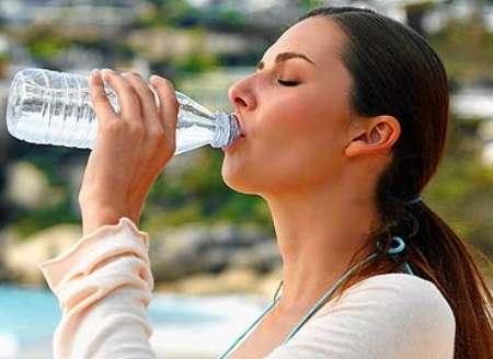 beber agua ereccion