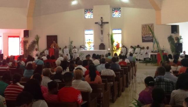 Calendario Perpetuo Semana Santa.Feligresia Catolica De Puerto Plata Participa En Procesion Del